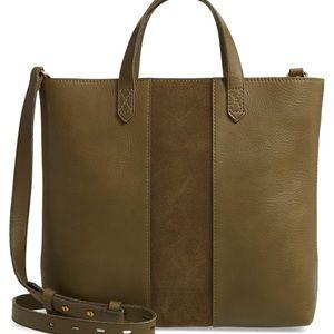 NEW Madewell Transport Leather Crossbody Bag